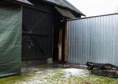 Pożar w miejscowości Wojtyniów - dwie osoby nie żyją