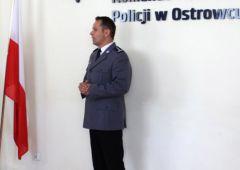 Nadkom. Piotr Zalewski Szefem Ostrowieckich Policjantów