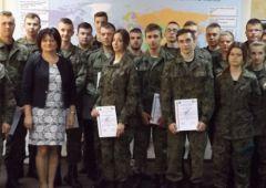 Uroczyste wręczenie certyfikatów dla uczniów ZSTM