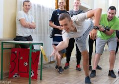 Spartakiada sportowo-rekreacyjna w Zespole Szkół Transportowo-Mechatronicznych