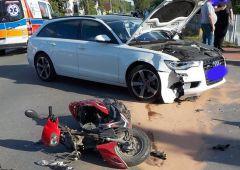 Groźny wypadek na ul. Pięknej w Skarżysku-Kamiennej