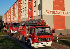 Nieostrożność przyczyną pożaru mieszkania