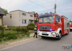 Pożar piwnicy przy ulicy Książęcej