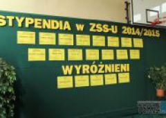 Stypendia dla uczniów ZSSU