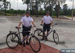 Letnie patrole policyjne