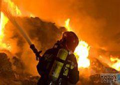 Kolejny pożar w ALMAXIE