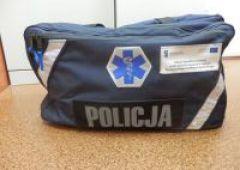 Policjanci po szkoleniach z pierwszej pomocy