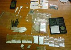 Narkotykowe zatrzymanie