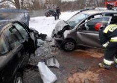 Dwa wypadki na drogach powiatu skarżyskiego