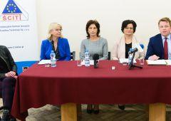 """""""Nowoczesna Szkoła Zawodowa - Nowoczesny Region"""" - konferencja prasowa w ZST-M"""