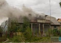 Pożar przy ulicy Pułaskiego
