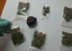 Policjanci zabezpieczyli marihuanę oraz haszysz