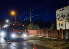 Pożar w budynku mieszkalnym w Michałowie