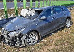 Wypadek samochodowy na trasie S7 w Skarżysku-Kamiennej