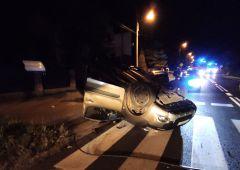 9 osób poszkodowanych w wypadku drogowym w miejscowości Brzeście