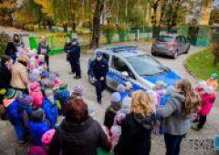 Spotkanie z policją w Przedszkolu Publicznym nr 6