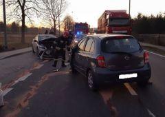 Wypadek drogowy w miejscowości Górki