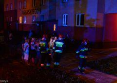 Pożar mieszkania przy ulicy Pułaskiego
