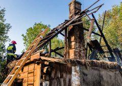 W pożarze domu przy ulicy Warszawskiej zginął mężczyzna
