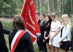 Ślubowanie uczniów klas pierwszych ZSSU