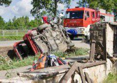 Wypadek w Suchedniowie