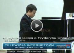 Muzyczna lekcja o Fryderyku Chopinie