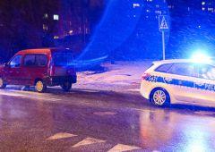 Potrącenie dwóch osób na ulicy Żeromskiego