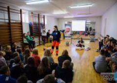 Uczniowie z Gimnazjum Nr 2 uczyli się przywracania akcji serca i pierwszej pomocy