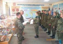 Uroczyste wręczenie certyfikatów dla uczniów ZSTM w Centrum Przygotowań do Misji Zagranicznych w Kielcach