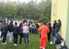 """""""Starachowice – Ostrowiec –Skarżysko czyli SOS dla Ruchu Drogowego"""". Spotkania w szkołach"""