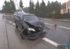 Wypadek na granicy Bliżyna   i Gilowa