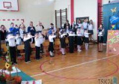 SP Nr 8 - pasowanie uczniów klas pierwszych