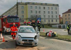 Na Piłsudskiego zderzyły się dwa samochody - jedna osoba w szpitalu