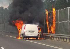 Kolejny pożar na S7