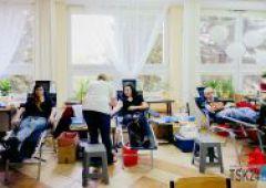 Akcja poboru krwi w Zespole Szkół Ekonomicznych