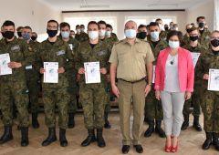 Certyfikaty uczniów ZSTM w Ramach Innowacji Wojskowej
