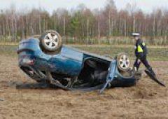 Nieszczęśliwy wypadek samochodowy