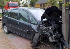 Wypadek drogowy na ul. 3-go Maja w Skarżysku-Kamiennej