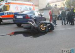 Wypadek na ulicy Norwida