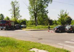 Kolizja na skrzyżowaniu Niepodległości z Krasińskiego