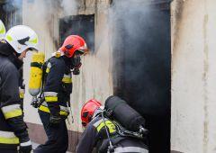 Pożar budynku gospodarczego przy ul. Głównej