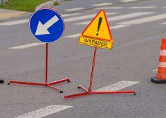 Potrącenie pieszej na ulicy Metalowców