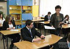 Egzaminy końcowe uczniów szkół gimnazjalnych