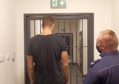 Sam zrobił promocję i trafił do aresztu