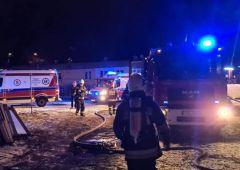 48-letni mężczyzna zginął w nocnym pożarze na os. Skałka