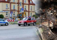 Podczas wykopów obok dworca znaleziono niewybuch