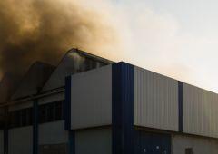 """Kolejny pożar na terenie """"Almaxu"""""""