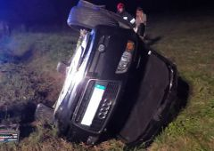 Niebezpieczne nocne wypadki drogowe w gminie Łączna