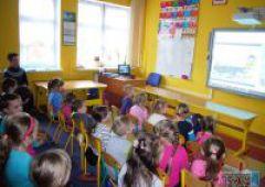 EDUSCIENCE  - Lekcja online z Antarktyki w Szkole w Lipowym Polu