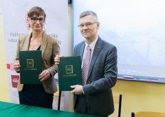 Umowa o patronacie naukowym dla ZSE przez Politechnikę Świętokrzyską podpisana